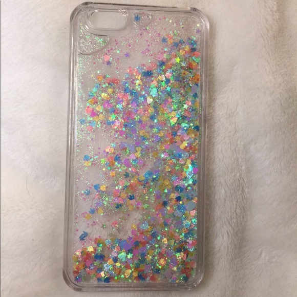 huge selection of 6dc93 11c2b iphone 6/6s case glitter water